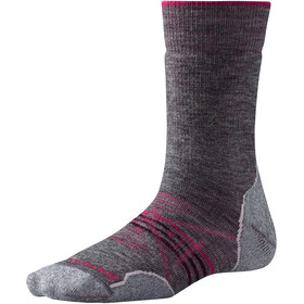 Smartwool PhD Outdoor Medium Crew-Cut Socken Damen medium gray